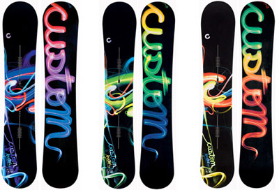 Burton Custom Snowboards